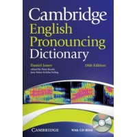 Cambridge English Pronouncing Dict. 18th Ed. + CD-ROM Paperback