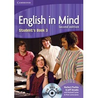 English in Mind 2nd Ed. 3 SB + DVD-ROM
