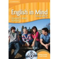 English in Mind 2nd Ed. Starter SB + DVD