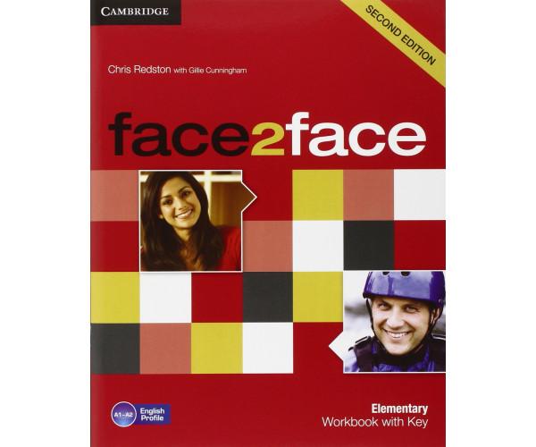 Face2Face 2nd Ed. Elem. WB + Key