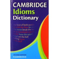 Cambridge Idioms Dictionary 2nd Ed. Paperback