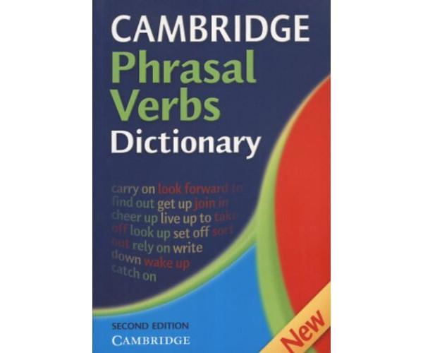 Cambridge Phrasal Verbs Dictionary 2nd Ed.
