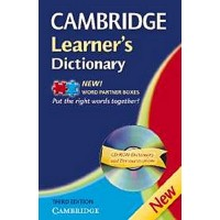 Cambridge Learner's Dictionary 3rd Ed. + CD-ROM