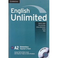 English Unlimited Elem. TB + DVD-ROM
