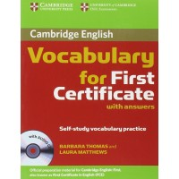 Cambridge Vocabulary for FC + Key & CD
