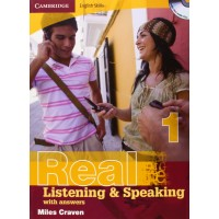 Cambridge Eng. Skills: Real List. & Speaking 1 Book + Key & CD