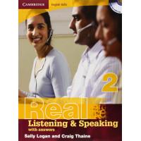 Cambridge Eng. Skills: Real List. & Speaking 2 Book + Key & CD