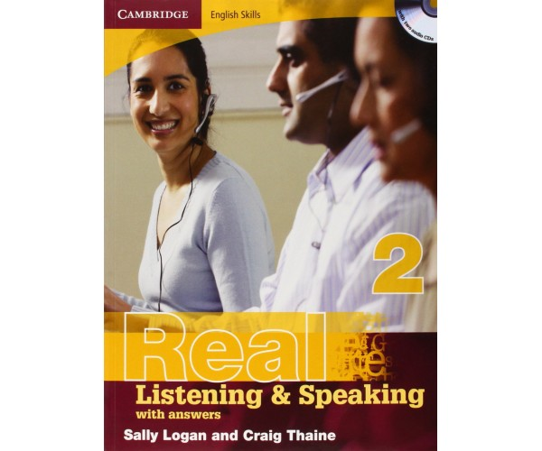 Cambridge Eng. Skills: Real List. & Speaking 2 Book + Key & CD