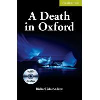 A Death in Oxford: Book + CD