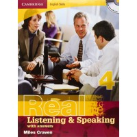 Cambridge Eng. Skills: Real List. & Speaking 4 Book + Key & CD