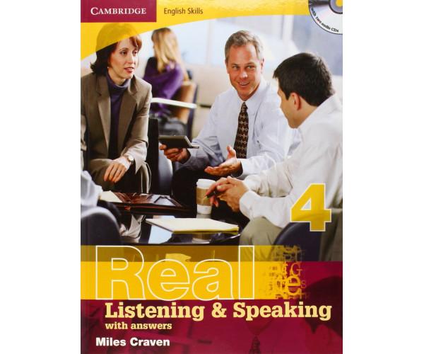 Cambridge Eng. Skills: Real List. & Speaking 4 Book + Key & CD