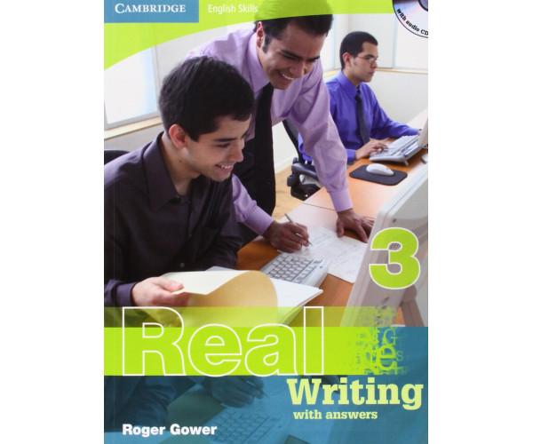 Cambridge Eng. Skills: Real Writing 3 Book + Key & CD
