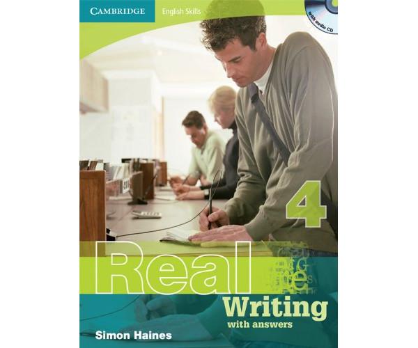 Cambridge Eng. Skills: Real Writing 4 Book + Key & CD
