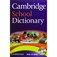 Cambridge School Dictionary + CD-ROM
