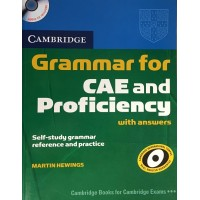 Cambridge Grammar for CAE and Proficiency Book + CD