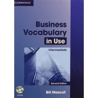 Business Vocab. in Use Int. 2nd Ed. Book + Key & CD-ROM