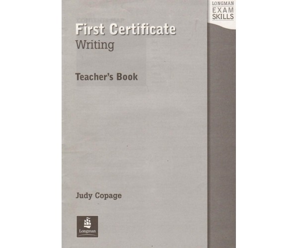 LES First Certificate Writing TB