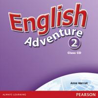 English Adventure 2 Cl. CDs