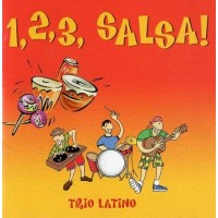 1, 2, 3, Salsa! Trio Latino CD + Booklet