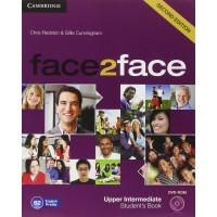 Face2Face 2nd Ed. Up-Int. SB + DVD-ROM