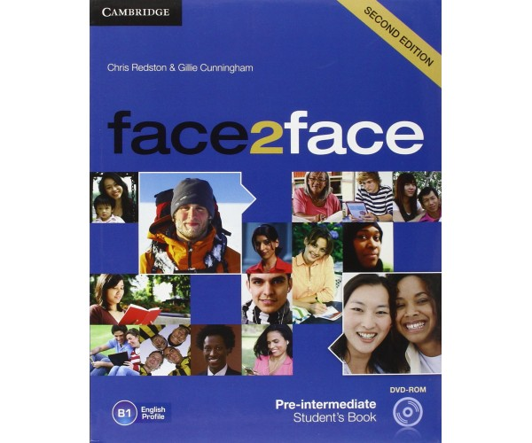 Face2Face 2nd Ed. Pre-Int. SB + DVD-ROM
