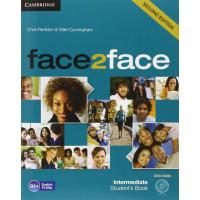 Face2Face 2nd Ed. Int. SB + DVD-ROM