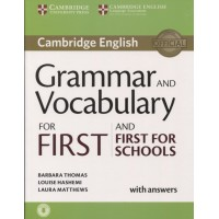 Cambridge Grammar and Vocabulary for First Book + Key & CD