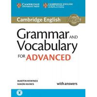 Cambridge Grammar and Vocabulary for Advanced Book + Key & CD