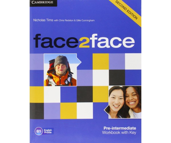 Face2Face 2nd Ed. Pre-Int. WB + Key