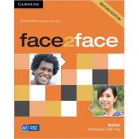 Face2Face 2nd Ed. Starter WB + Key