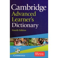 Cambridge Advanced Learner's Dict. 4th Ed. + CD-ROM Paperback
