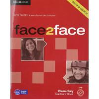 Face2Face 2nd Ed. Elem. TB + DVD