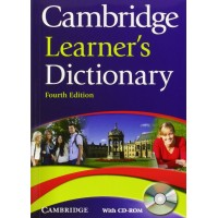 Cambridge Learner's Dictionary 4th Ed. + CD-ROM Paperback