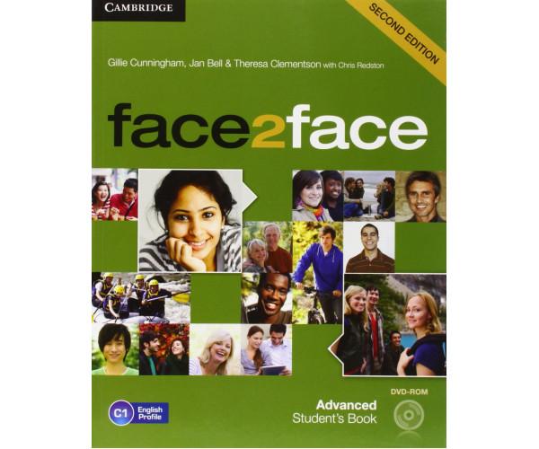 Face2Face 2nd Ed. Adv. SB + DVD-ROM