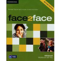 Face2Face 2nd Ed. Adv. WB + Key