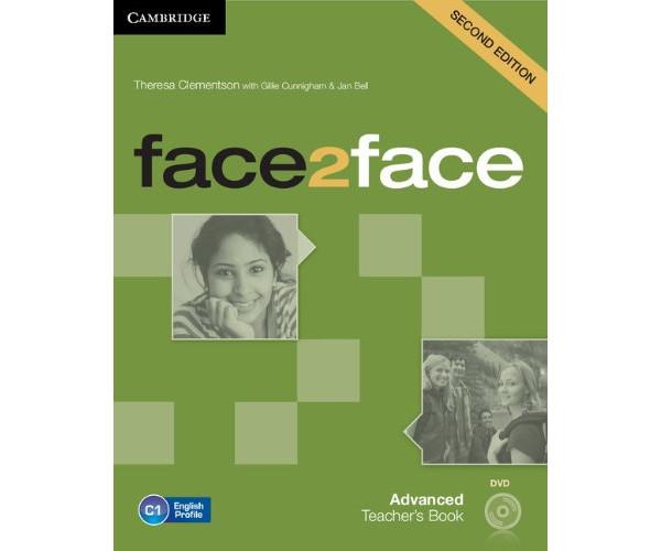 Face2Face 2nd Ed. Adv. TB + DVD