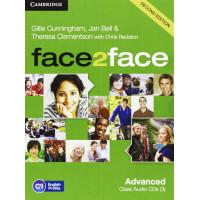 Face2Face 2nd Ed. Adv. Cl. CD