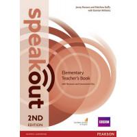 Speakout 2nd Ed. Elem. TB + CD-ROM