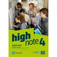 High Note 4 SB + Extra Digital Activities (vadovėlis)