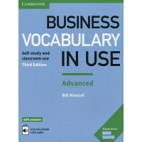 Business Vocab. in Use Int. 3rd Adv. Book + Key & eBook