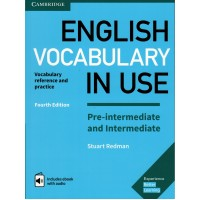 English Vocabulary in Use 4th Ed. Pre-Int./Int. Book + Key & eBook