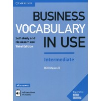 Business Vocab. in Use Int. 3rd Ed. Book + Key & eBook