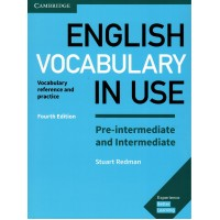 English Vocabulary in Use 4th Ed. Pre-Int./Int. Book + Key