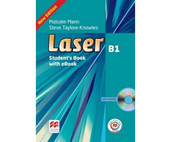 Laser 3rd Ed. B1 SB + CD-ROM & eBook