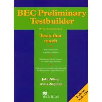 Testbuilder BEC Preliminary + CD