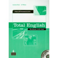 Total English Pre-Int. WB + Key & CD-ROM
