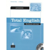 Total English Adv. WB + Key & CD-ROM