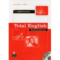 Total English Int. WB + Key & CD-ROM