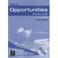 New Opportunities Pre-Int. TB + CD-ROM