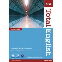 New Total English Adv. SB + DVD
